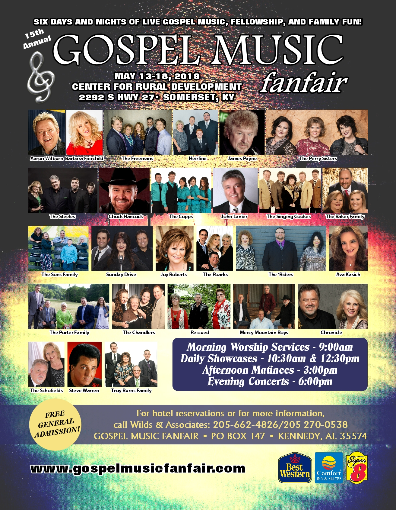 2019 Gospel Music FanFair 01-17-19