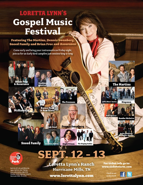 Sneed Family Bus Tour Headed To Loretta Lynn's Gospel Music Festival