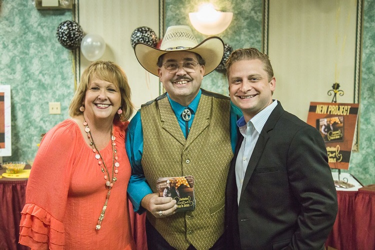 "The MusicCity Show's ""Positive Cowboy"" Jim Sheldon Celebrates New CD WithA Party"