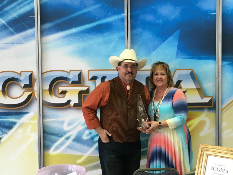 Jim Sheldon, The Positive Cowboy, Receives TV Show Of The Year
